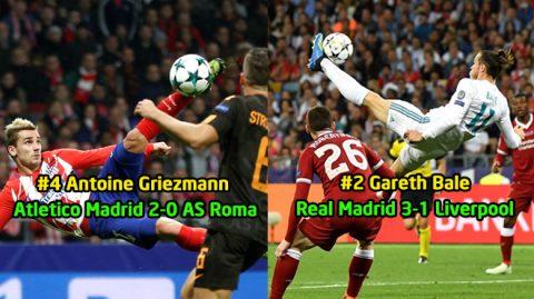 UEFA công bố 10 bàn thắng đẹp nhất Champions League: Lập siêu phẩm đẹp nhất trong sự nghiệp, Bale vẫn ngậm ngùi xếp sau cái tên này!