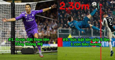 TOP 10 bí mật không nhiều người biết về Ronaldo – thiên tài hoàn hảo khiến Messi phục sát đất