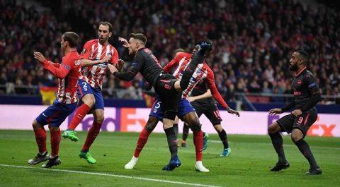 Để thua Atletico, Arsenal tiếp tục nhận hung tin khiến tất cả phải xót xa