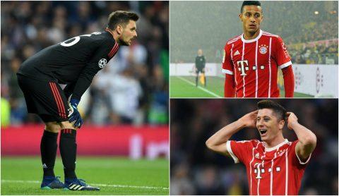 Chấm điểm Bayern: Thảm họa Ulreich; thất vọng Lewandowski