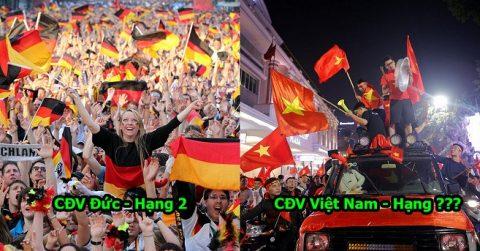 Báo Mỹ công bố 10 đất nước yêu bóng đá nhất thế giới: Việt Nam chung mâm với các cường quốc hàng đầu