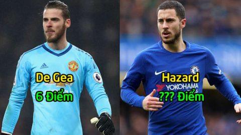 Chấm điểm MU 0-1 Chelsea: Tất cả ngả mũ trước siêu nhân Hazard
