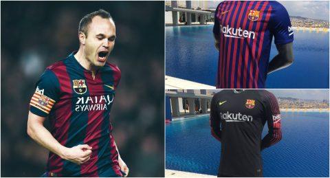 """Để tạm biệt huyền thoại Iniesta, Barca lên kế hoạch """"trình làng"""" mẫu áo đấu mùa 2018/19 đẹp miễn chê vào chủ nhật tới!"""