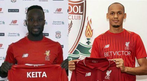 Choáng ngớp với đội hình của Liverpool với Keita và Fabinho