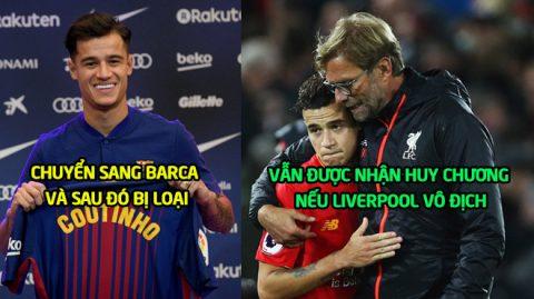 """Tha thứ cho kẻ """"phản đồ"""" Coutinho, Klopp quyết định vẫn sẽ trao huy chương nếu vô địch Champions League"""