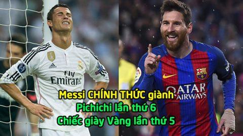 Lập liên tiếp 2 kỷ lục vô tiền khoáng hậu, Messi vượt mặt Ronaldo đi vào lịch sử khiến cả TG phải ngả mũ thán phục