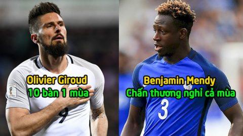 Thi đấu không quá ấn tượng, nhưng 3 cái tên này đã được gọi lên tuyển Pháp tham dự World Cup 2018 một cách khó hiểu thế này đây!