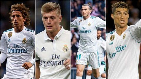 Real Madrid chính thức công bố 24 hảo thủ, danh sách đội hình dư sức nghiền nát Liverpool