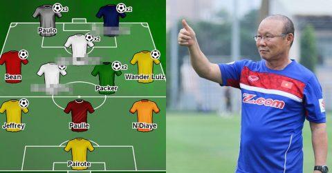 Đội hình tiêu biểu Đông Nam Á tuần qua: 2 trò cưng U23 của thầy Park làm rạng danh cả V-League