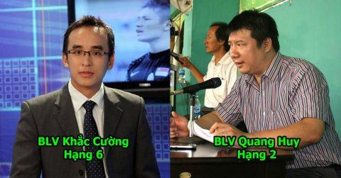 TOP 7 bình luận viên bóng đá được yêu mến nhất Việt Nam: Số 1 đã đi vào giai thoại