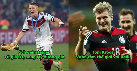 """4 năm sau ngày cùng nhau """"lên đỉnh"""" thế giới, số phận 23 tuyển thủ Đức ngày ấy hiện giờ lại trái ngược thế này đây!"""