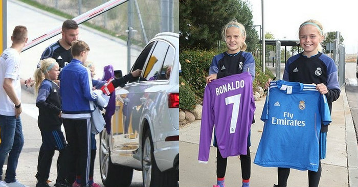 4 cha con vượt 7000km từ Đan Mạch sang Tây Ban Nha để xin chữ ký Ronaldo và cái kết khiến tất cả cảm động