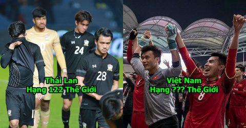 """BXH FIFA tháng 5/2018: Mặc Thái Lan vùng vẫy ở """"ao làng"""", Việt Nam tiếp tục đà thăng tiến như """"tên lửa"""""""