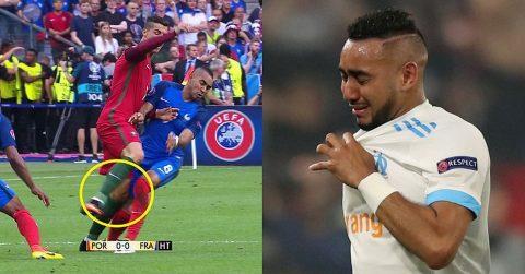 """2 năm sau cú """"vung chân"""" tiễn Ronaldo rời sân trong nước mắt, """"hung thần"""" của ĐT Pháp bị cả thế giới quay lưng thế này đây"""