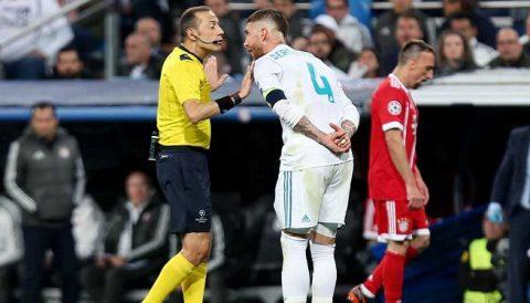 TRANH CÃI: Trọng tài tai tiếng đã giúp Real Madrid thoát khỏi 1 quả phạt đền?