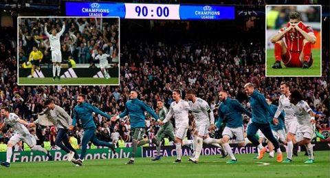 Kết quả Real Madrid – Bayern Munich: Đôi công mãn nhãn, ngược dòng kịch tính