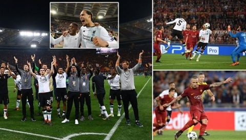 Kết quả Roma – Liverpool: Tưng bừng mưa bàn thắng, ngược dòng ấn tượng