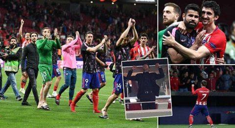 Kết quả Atletico Madrid – Arsenal: Hung thần quen thuộc, lời chia tay buồn tủi
