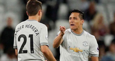 Chấm điểm MU ở trận hòa West Ham: Nhạt nhòa nhưng Sanchez vẫn hay nhất trận