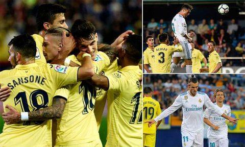 Nhường sân khấu cho Villarreal, Real đối thủ bị cầm hòa bằng cách không thể kịch tính hơn