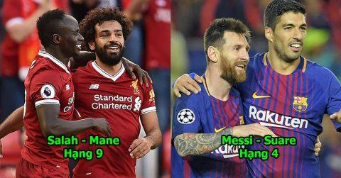 10 song tấu hay nhất trời Âu mùa này: Bộ đôi của Ronaldo, Messi còn thua cả hàng thải Ngoại hạng Anh