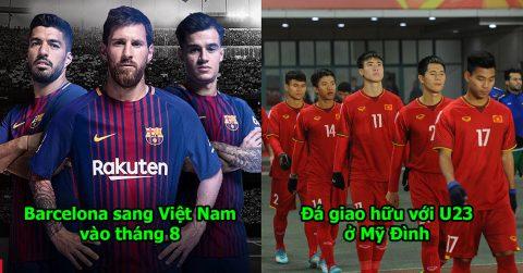 NÓNG: Quyết giành HCV Asiad, U23 Việt Nam bất ngờ mời Barcelona làm quân xanh