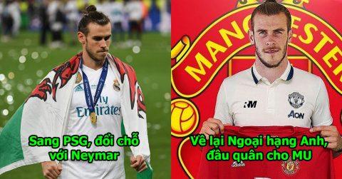 Rời Real, đây là 6 bến đỗ lý tưởng nhất của Gareth Bale: Muốn trở nên vĩ đại như Ronaldo hãy chọn số 1