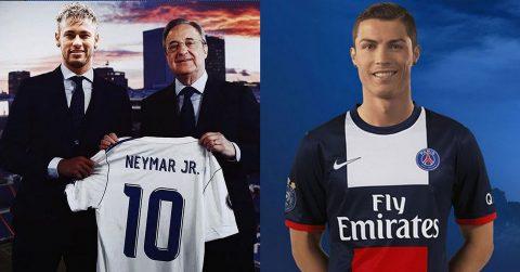 """Nóng mắt vì Real ra sức chèo kéo Neymar, chủ tịch PSG """"phản đòn"""" bơm núi tiền cuỗm ngôi sao số 1 Dải ngân hà khiến cả TG phải rùng mình"""