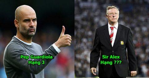10 HLV vĩ đại nhất lịch sử bóng đá thế giới: Mourinho, Pep cũng chỉ làm nền cho vị thuyền trưởng tài ba này