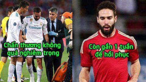 LĐBĐ Tây Ban Nha chính thức ra phán quyết về chấn thương của Daniel Carvajal, triệu Fans thở phào nhẹ nhõm