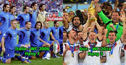10 đội hình bá đạo nhất lịch sử các kỳ World Cup và EURO: Đâm Brazil 7 nhát kiếm, Đức 2014 vẫn ngậm ngùi đứng thứ 3