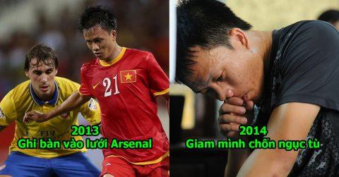 Cuộc đời đầy tăm tối và tủi nhục của cầu thủ Việt Nam duy nhất ghi bàn vào lưới Arsenal khiến ai cũng xót thương