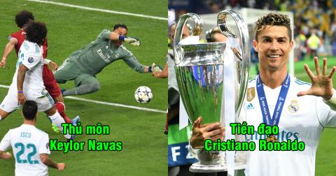 UEFA công bố đội hình xuất sắc nhất Champions League mùa này: Real áp đảo, chỉ 1 cái tên Barca góp mặt