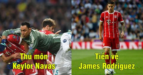 Đội hình tiêu biểu bán kết lượt về Champions League: Bị đánh bật bởi Real, Bayern vẫn nhuộm đỏ trời Âu