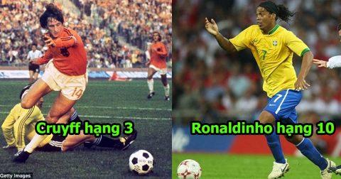 10 quái nhân có cách rê dắt bóng khó chịu nhất lịch sử: Messi chễm chệ vượt mặt các huyền thoại thế này đây