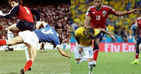 Top 10 pha phạm lỗi kinh khủng nhất lịch sử World Cup: Số 1 khiến Neymar suýt tàn phế suốt đời