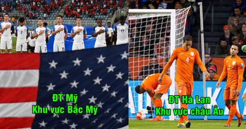 """Top 10 đội bóng """"rất mạnh"""" nhưng lại vắng mặt ở World Cup 2018 gây tiếc tuối: Còn đâu """"cơn lốc màu da cam"""""""