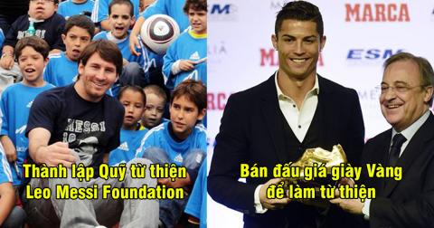 Không chỉ được yêu mến bởi tài năng, 6 cầu thủ này còn được thế giới ngưỡng mộ vì chăm làm từ thiện