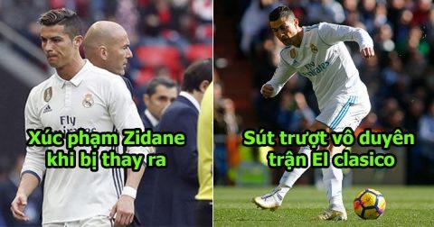 6 khoảnh khắc mà Ronaldo không bao giờ muốn nhớ đến trong sự nghiệp: Số 2 khiến tất cả cười đau bụng
