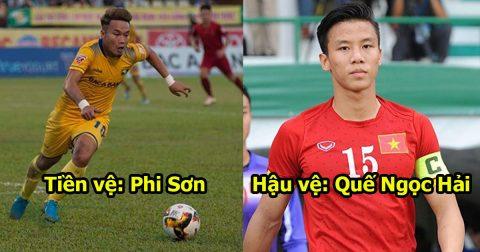 Đội hình 11 siêu sao gốc Nghệ Tĩnh thừa sức hấp diêm cả V.League: Nhìn hàng thủ không 1 ai dám tấn công