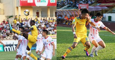 Trợ lý thầy Park dự khán, Sông Lam Nghệ An lại thua đội bét bảng đầy cay đắng ngay trên sân Vinh