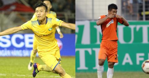 Đức Chinh lu mờ trước Văn Đức, Tuấn Tài, SHB Đà Nẵng thua thảm SLNA dù được chơi trên sân nhà