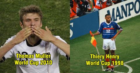 Chỉ là chân dự bị hoặc tài năng trẻ nhưng 10 cầu thủ này đã khiến cả thế giới sửng sốt khi tỏa sáng ở World Cup