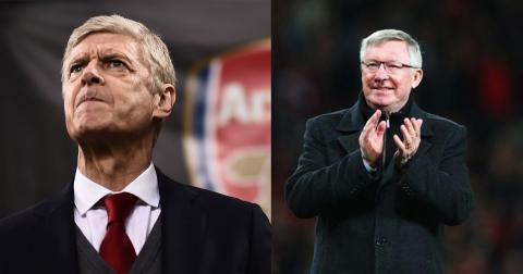 3 cầu thủ cực kỳ may mắn từng được dẫn dắt bởi cả Sir Alex và Wenger, có một cái tên khiến Arsenal phát điên
