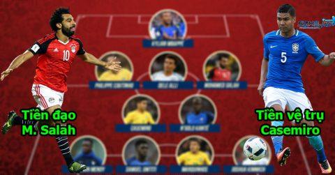 Đội hình 11 tân binh lần đầu tiên trong đời được dự World Cup: Mạnh đến nỗi cả Brazil, Đức cũng không ngăn nổi