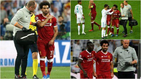 CHÙM ẢNH: Salah không ngừng rơi nước mắt khi phải rời sân, rửa trôi giấc mộng World Cup