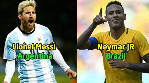 """8 cầu thủ Nam Mỹ hứa hẹn sẽ """"quẩy tung"""" đấu trường World Cup 2018: Nhìn đâu cũng thấy người Brazil"""