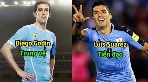Uruguay CHÍNH THỨC công bố đội hình dự World Cup: Tất cả nhờ cậy vào cặp song sát tuyệt đỉnh này!