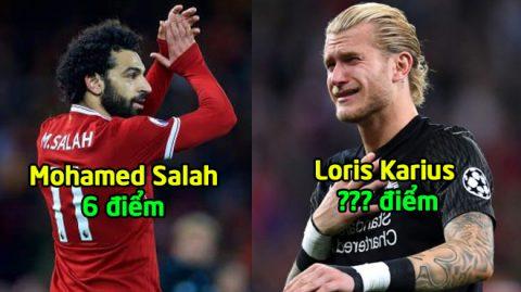Chấm điểm Liverpool sau thất bại cay đắng trước Real: Cạn lời trước thánh 'bóp' Karius?