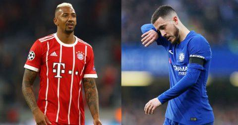 Chuyển nhượng 21/05: Bom tấn Jerome Boateng sắp phát nổ, Chelsea chốt sao MU thay Hazard